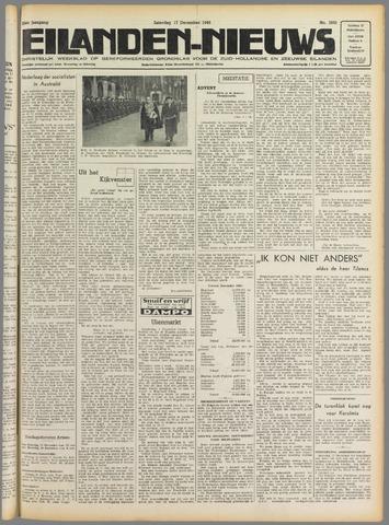 Eilanden-nieuws. Christelijk streekblad op gereformeerde grondslag 1949-12-17