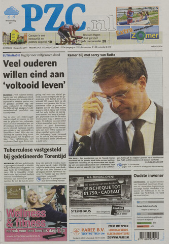Provinciale Zeeuwse Courant 2011-08-13