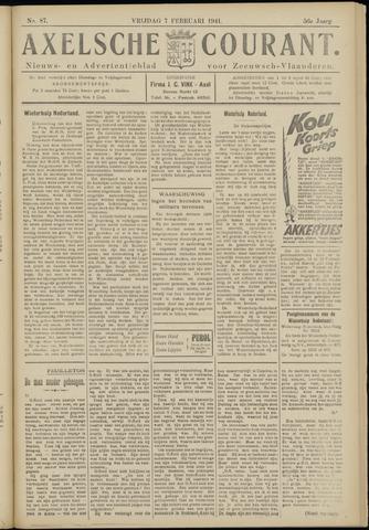 Axelsche Courant 1941-02-07