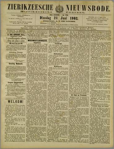 Zierikzeesche Nieuwsbode 1902-06-24