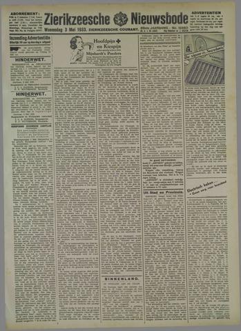 Zierikzeesche Nieuwsbode 1933-05-03