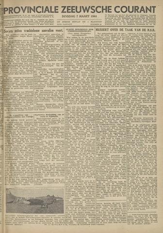 Provinciale Zeeuwse Courant 1944-03-07