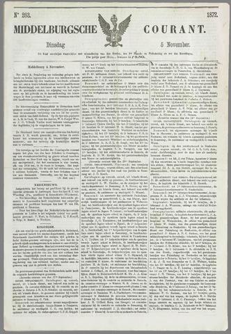 Middelburgsche Courant 1872-11-05
