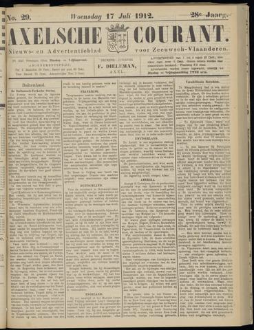 Axelsche Courant 1912-07-17