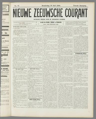 Nieuwe Zeeuwsche Courant 1906-07-26