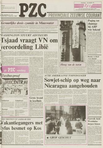 Provinciale Zeeuwse Courant 1983-08-04