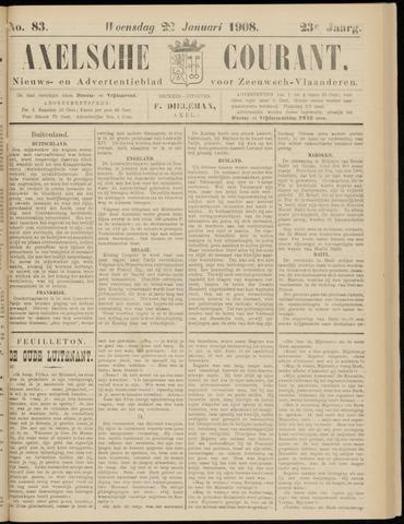 Axelsche Courant 1908-01-22