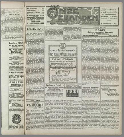 Onze Eilanden 1927-11-05