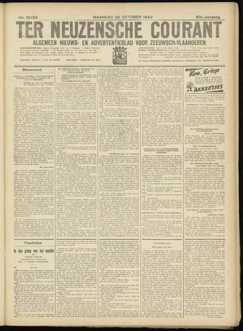 Ter Neuzensche Courant. Algemeen Nieuws- en Advertentieblad voor Zeeuwsch-Vlaanderen / Neuzensche Courant ... (idem) / (Algemeen) nieuws en advertentieblad voor Zeeuwsch-Vlaanderen 1940-10-28