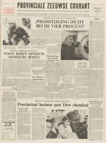 Provinciale Zeeuwse Courant 1970-04-28