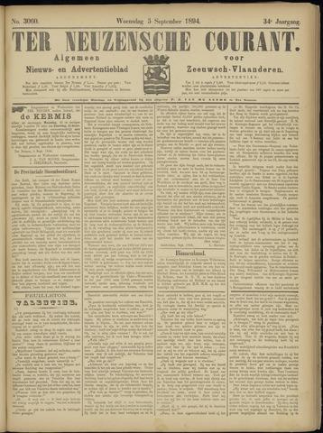 Ter Neuzensche Courant. Algemeen Nieuws- en Advertentieblad voor Zeeuwsch-Vlaanderen / Neuzensche Courant ... (idem) / (Algemeen) nieuws en advertentieblad voor Zeeuwsch-Vlaanderen 1894-09-05