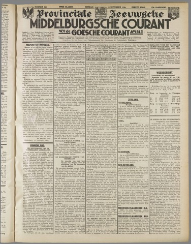 Middelburgsche Courant 1936-11-10