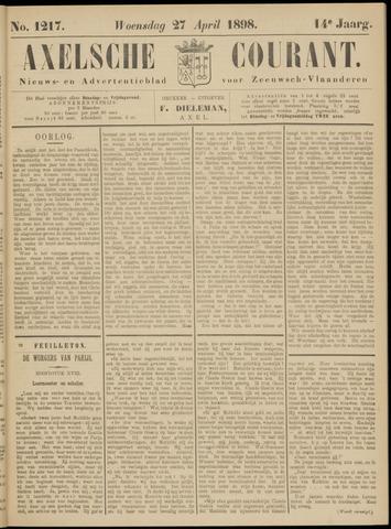 Axelsche Courant 1898-04-27