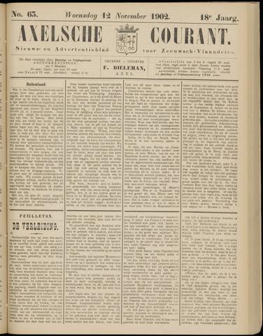 Axelsche Courant 1902-11-12