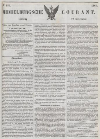 Middelburgsche Courant 1867-11-19