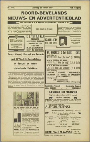 Noord-Bevelands Nieuws- en advertentieblad 1937-01-23