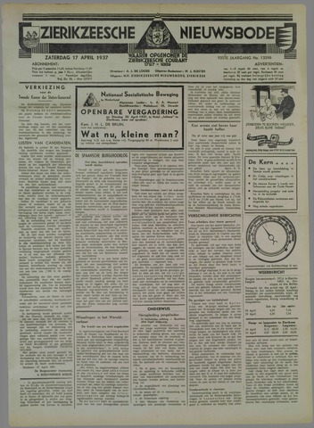 Zierikzeesche Nieuwsbode 1937-04-17