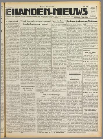 Eilanden-nieuws. Christelijk streekblad op gereformeerde grondslag 1949-10-26