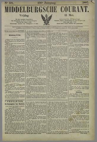 Middelburgsche Courant 1887-05-21