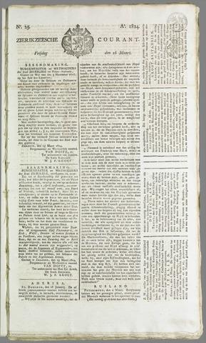 Zierikzeesche Courant 1824-03-26