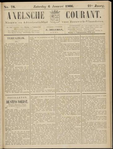 Axelsche Courant 1906-01-06