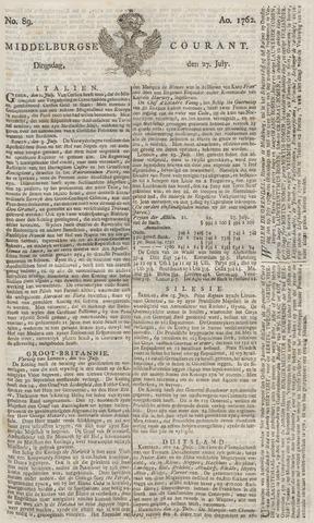 Middelburgsche Courant 1762-07-27