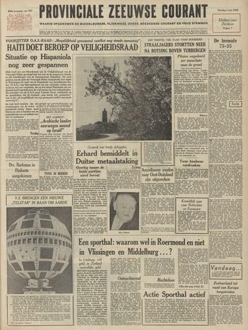 Provinciale Zeeuwse Courant 1963-05-07