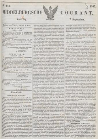 Middelburgsche Courant 1867-09-07