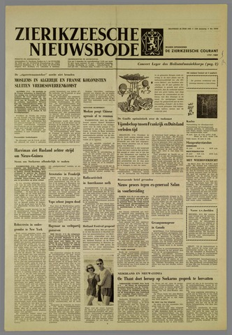 Zierikzeesche Nieuwsbode 1962-06-18