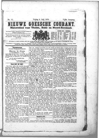 Nieuwe Goessche Courant 1870-07-08