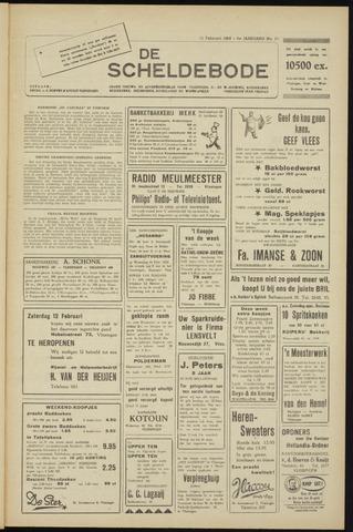 Scheldebode 1955-02-11