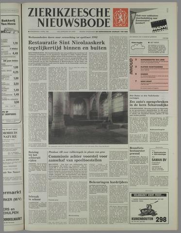 Zierikzeesche Nieuwsbode 1991-04-04