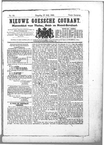 Nieuwe Goessche Courant 1869-07-27