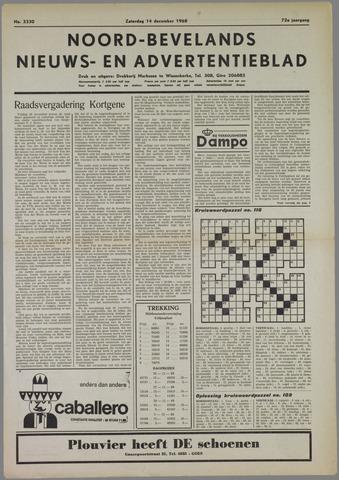 Noord-Bevelands Nieuws- en advertentieblad 1968-12-14