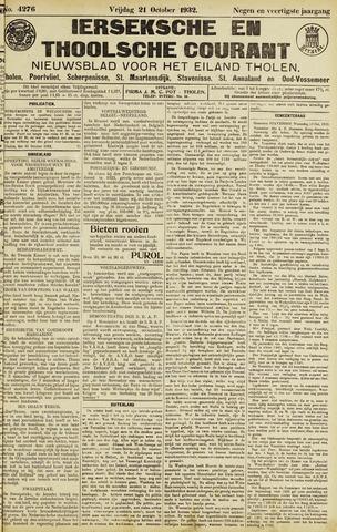 Ierseksche en Thoolsche Courant 1932-10-21