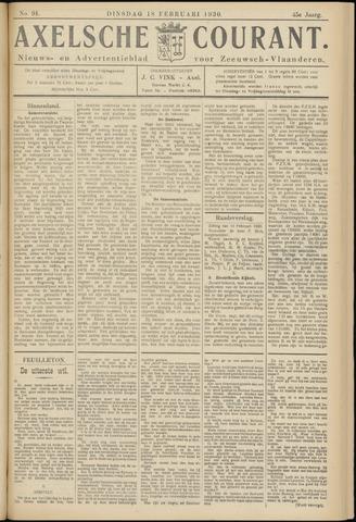 Axelsche Courant 1930-02-18