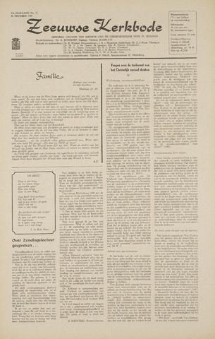 Zeeuwsche kerkbode, weekblad gewijd aan de belangen der gereformeerde kerken/ Zeeuwsch kerkblad 1968-10-31