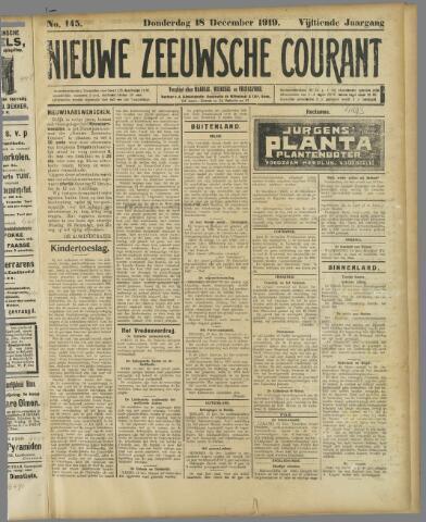 Nieuwe Zeeuwsche Courant 1919-12-18
