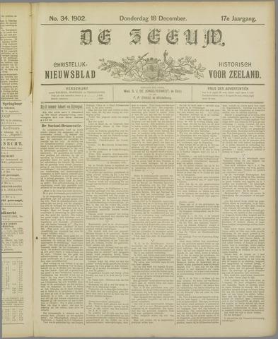 De Zeeuw. Christelijk-historisch nieuwsblad voor Zeeland 1902-12-18