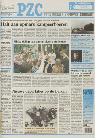 Provinciale Zeeuwse Courant 1995-08-15