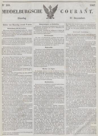 Middelburgsche Courant 1867-12-31