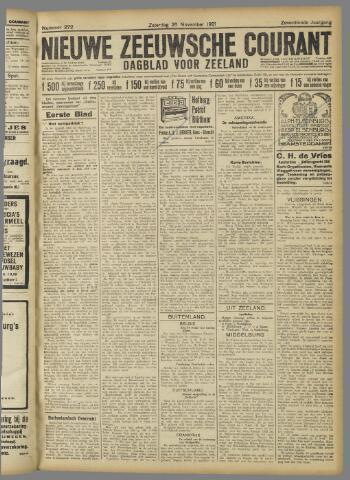 Nieuwe Zeeuwsche Courant 1921-11-26