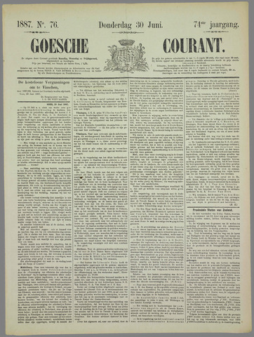 Goessche Courant 1887-06-30