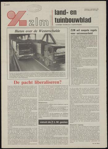 Zeeuwsch landbouwblad ... ZLM land- en tuinbouwblad 1990-10-05