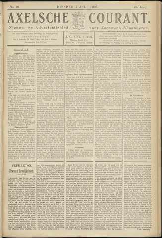 Axelsche Courant 1927-07-05