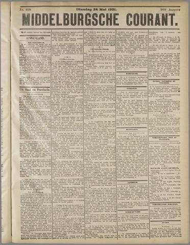 Middelburgsche Courant 1921-05-24