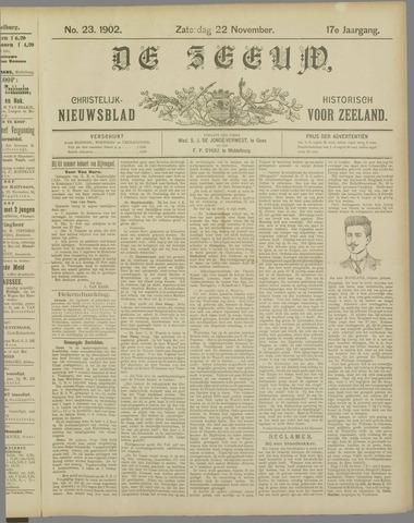 De Zeeuw. Christelijk-historisch nieuwsblad voor Zeeland 1902-11-22