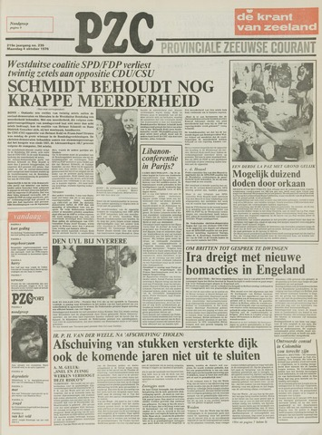 Provinciale Zeeuwse Courant 1976-10-04
