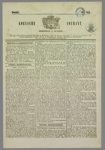Goessche Courant 1850-10-24