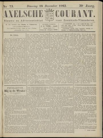 Axelsche Courant 1923-12-18